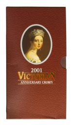 2001 Death Of Victoria Royal Mint Brilliant Uncirculated pack for sale